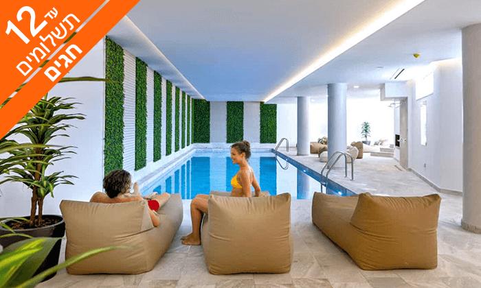 """6 זוגות בלבד: סופ""""ש במלון Leonardo החדש בקפריסין"""