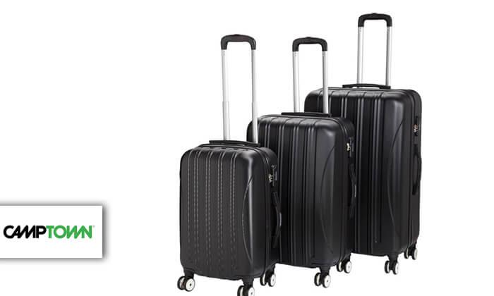 2 סט 3 מזוודותCAMPTOWN