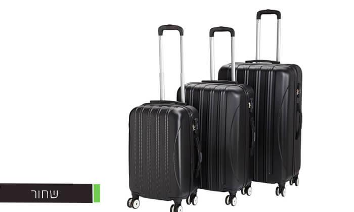 4 סט 3 מזוודותCAMPTOWN