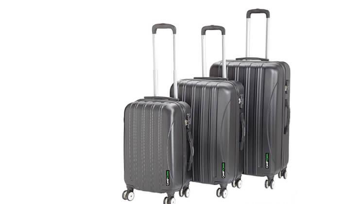 5 סט 3 מזוודותCAMPTOWN