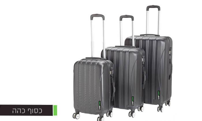 3 סט 3 מזוודותCAMPTOWN