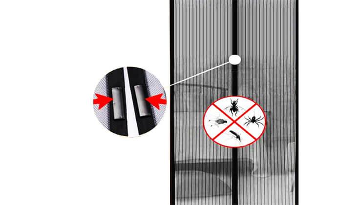 3 הדגם החדש: וילון רשת נגד חרקים