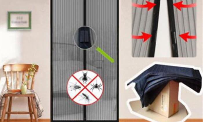 4 הדגם החדש: וילון רשת נגד חרקים