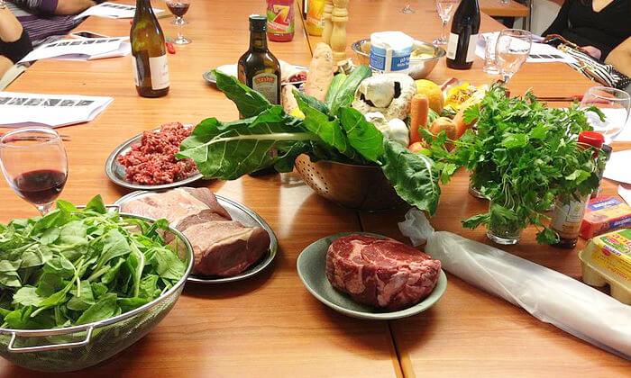 3 מבשלים באהבה - סדנאות בישול עם שף פרטי עד הבית