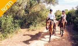 רכיבה רומנטית על סוסים