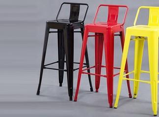 כיסא בר ממתכת