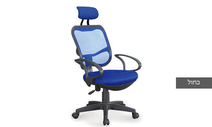 4 כסא מנהלים אורתופדי