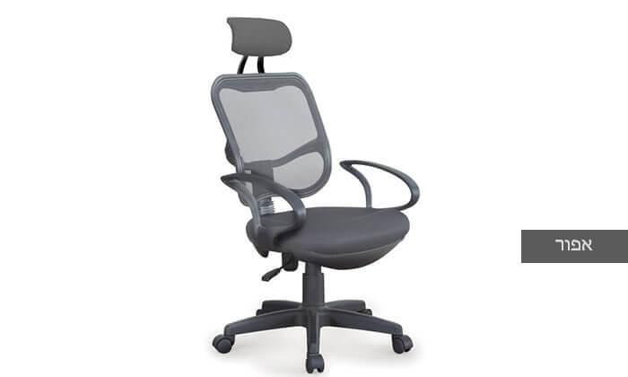 5 כסא מנהלים אורתופדי