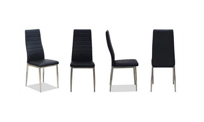 6 פינת אוכל עם 6 כיסאות דגם 0303