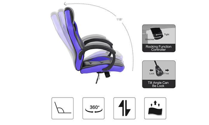14 כיסא גיימרים NINJA Extrim