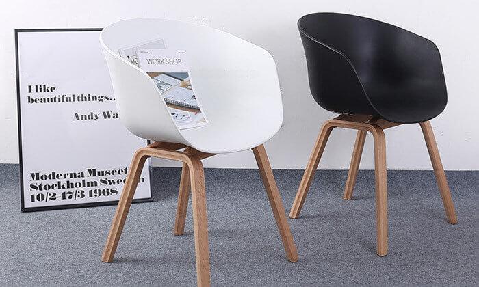 5 כסא בעיצוב מעוגל דגם C496