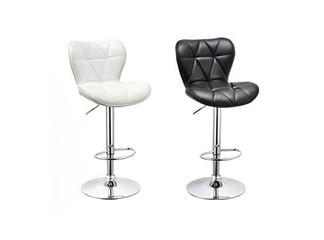 זוג כסאות בר מרופדים דגם 8030