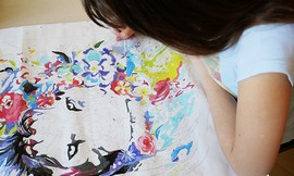 סדנת אומנות הורים וילדים