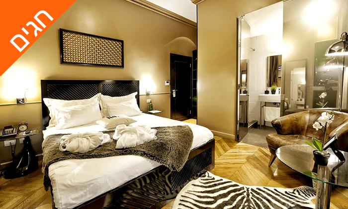 """4 מונטיפיורי 16 - מלון בוטיק אורבני, כולל חגים וסופ""""ש"""