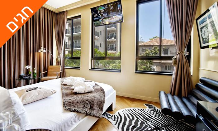 """2 מונטיפיורי 16 - מלון בוטיק אורבני, כולל חגים וסופ""""ש"""