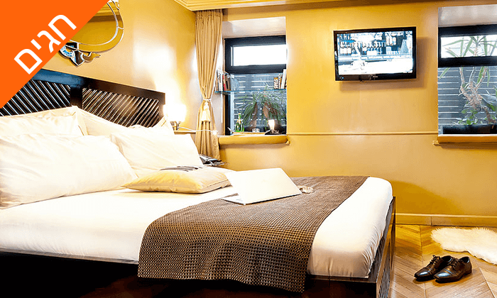 """9 מונטיפיורי 16 - מלון בוטיק אורבני, כולל חגים וסופ""""ש"""
