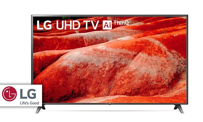 טלוויזיה SMART 4K LG, מסך 75 אינץ' - משלוח חינם