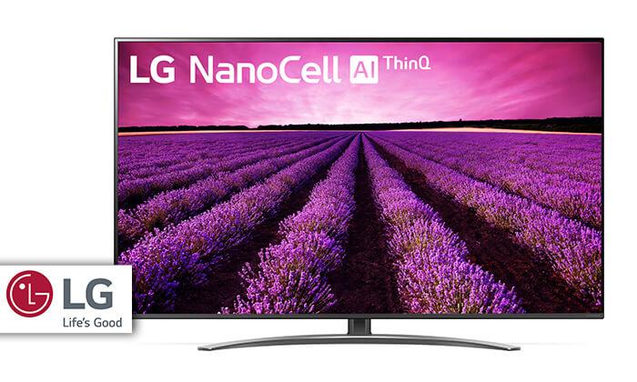 טלוויזיה SMART 4K LG, מסך 55 אינץ' - משלוח חינם