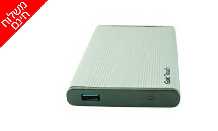 """3 דיסק קשיח חיצוני SeaGate 1TB במארז """"2.5 - משלוח חינם"""