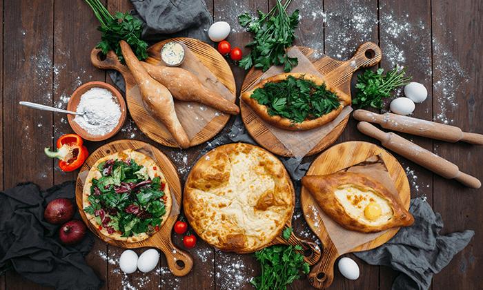 4 סדנת בישול בבטומי גאורגיה - חצ'אפורי, חינקלי, צ'אצ'ה ועוד