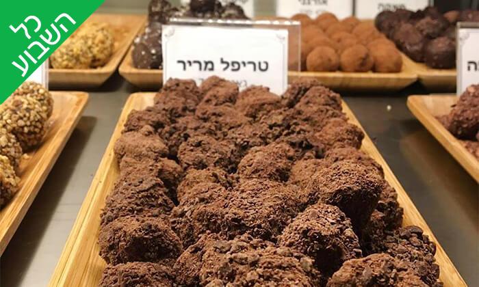 13 מארז פרלינים ואייס קקאו, COCO - Vegan Chocolate & Cacao Temple בפלורנטין