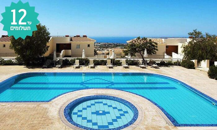 2 חבילת נופש לפאפוס, קפריסין - מלון Club St George
