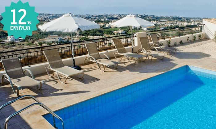 9 חבילת נופש לפאפוס, קפריסין - מלון Club St George