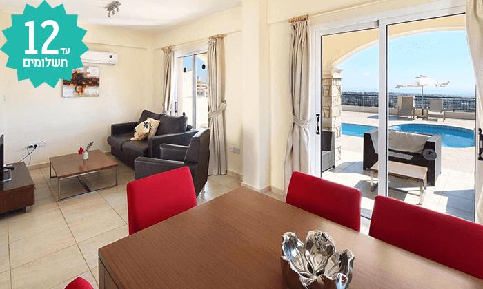 7 חבילת נופש לפאפוס, קפריסין - מלון Club St George