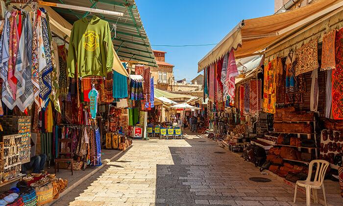 8 ג'רוזלם סיטי טור - סיור באוטובוס קומותיים פתוח בירושלים