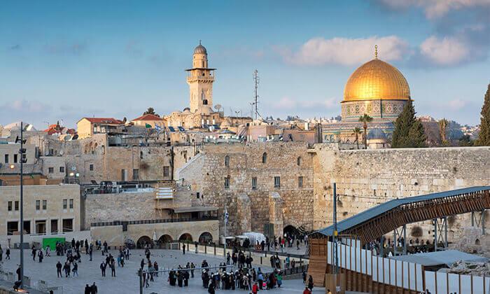 12 ג'רוזלם סיטי טור - סיור באוטובוס קומותיים פתוח בירושלים