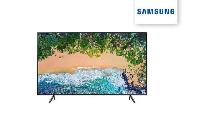 2 טלוויזיה חכמה SAMSUNG מדגם 65MU7003 בגודל 65 אינץ'