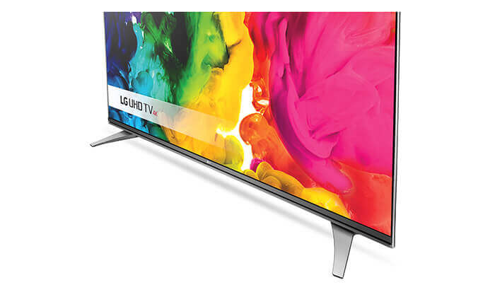 4 טלוויזיה חכמה LG בגודל 55 אינץ' דגם55UJ620Y