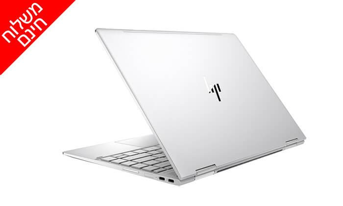 4 מחשב נייד HP עם מסך מגע 13.3 אינץ' - משלוח חינם