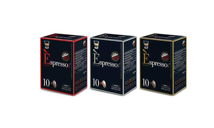 4 120 קפסולות אספרסו Vergnano