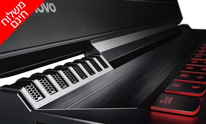 """8 מחשב נייד לנובו Lenovo, עם מסך """"15.6 וכ. גרפי GeForce GTX 1060 - משלוח חינם"""