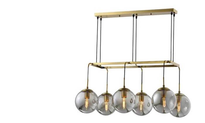 4 ביתילי: מנורת תלייה דגם גלייז קוניאק