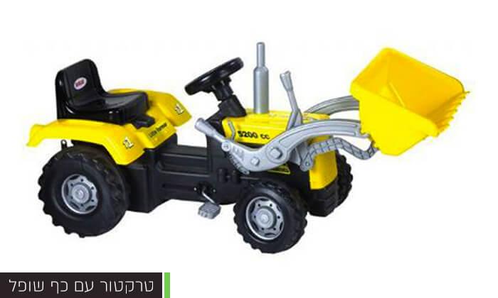 3 כלי רכב לילדים מגיל 3