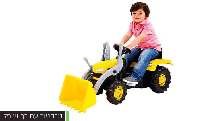 4 כלי רכב לילדים מגיל 3
