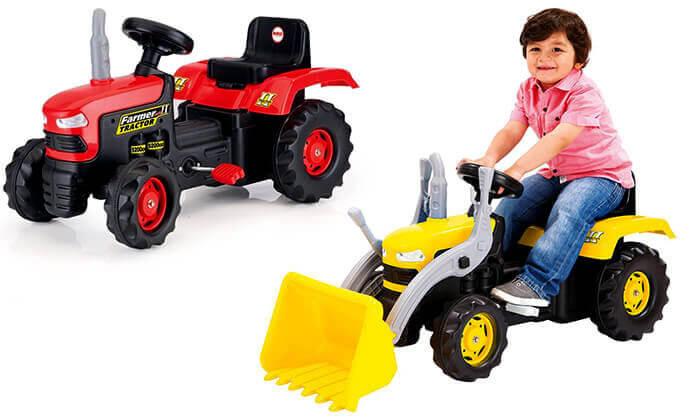 7 כלי רכב לילדים מגיל 3