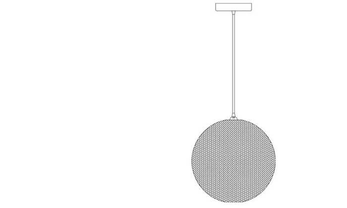 3 ביתילי: מנורת תלייה דגם אפיק קטן