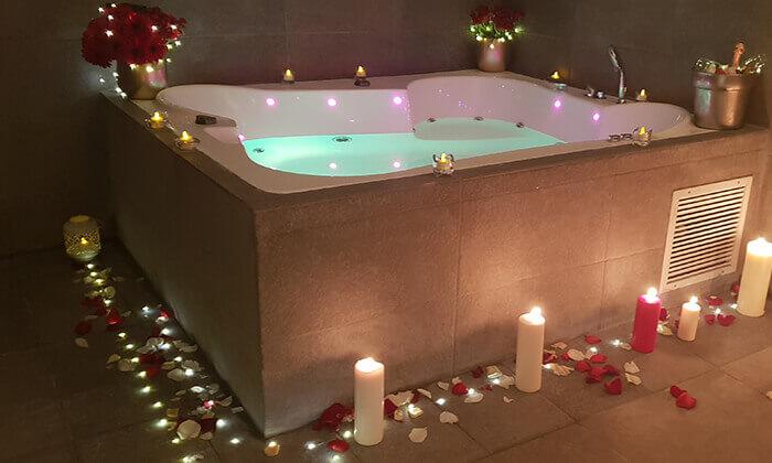 4 ספא סיטי טאוור במלון לאונרדו, רמת גן - יום פינוק ליחיד או לזוג