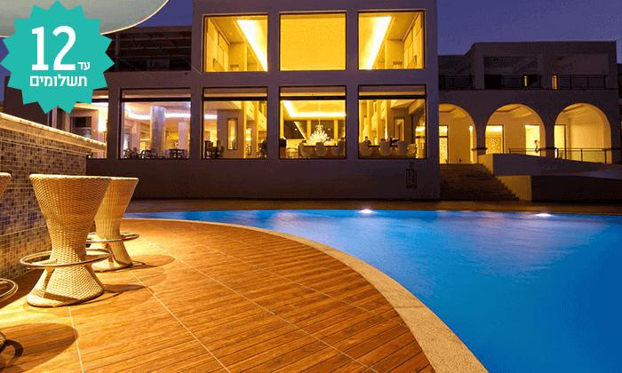 5 חבילת נופש ברודוס - מלון Kresten Royal, כולל חגים