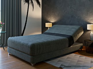 מיטה מתכווננת ברוחב וחצי