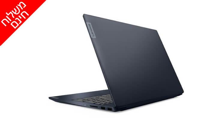 3 מחשב נייד לנובו LENOVO עם מסך 15.6 אינץ' - משלוח חינם