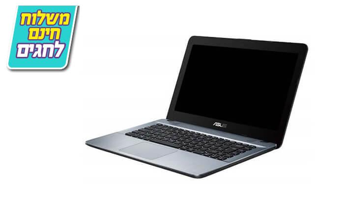 3 מחשב נייד אסוס ASUS עם מסך 14 אינץ' - משלוח חינם
