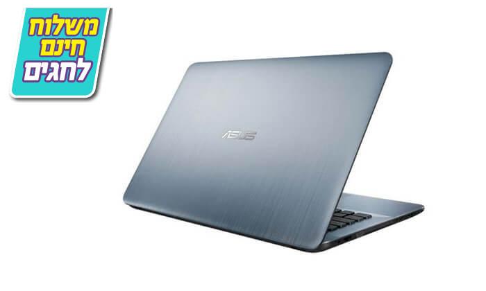 4 מחשב נייד אסוס ASUS עם מסך 14 אינץ' - משלוח חינם