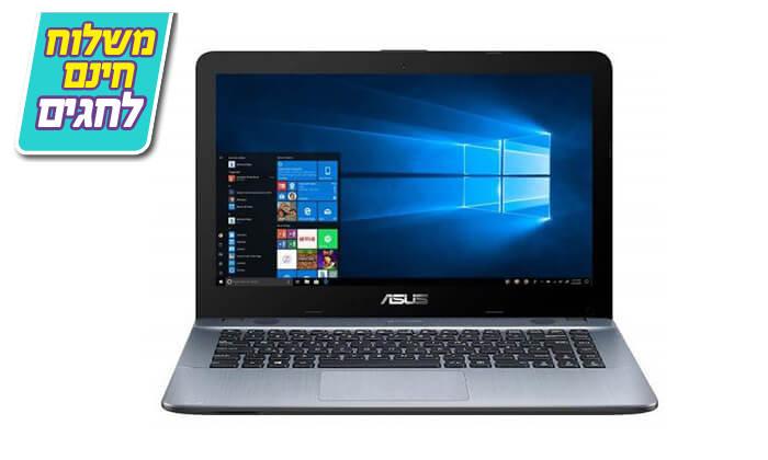 6 מחשב נייד אסוס ASUS עם מסך 14 אינץ' - משלוח חינם