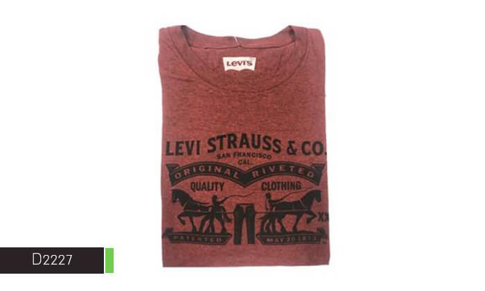 10 חולצת טי-שירט LEVIS לגבר