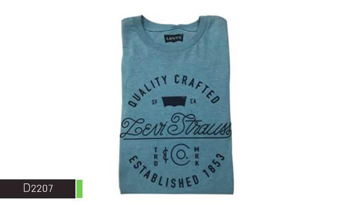 9 חולצת טי-שירט LEVIS לגבר