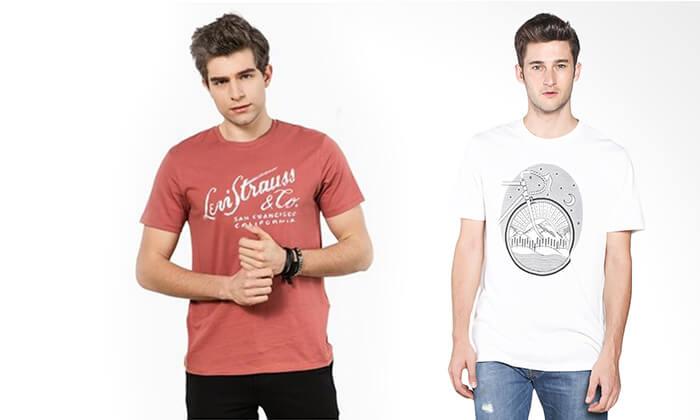 17 חולצת טי-שירט LEVIS לגבר